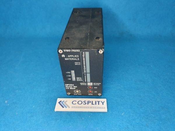 0190-76252 I/O BLOCK, CDN-294, DEVICENET