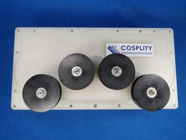 0010-23808 4-ROLLER ASSEMBLY BRUSH MODULE 200MM MESA