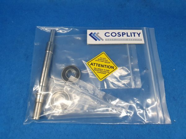 0010-19315 SHAFT ASSEMBLY SEALED BEARINGS ROLLER ASSEMBLY