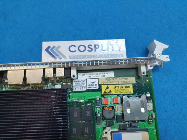 LAM RESEARCH 605-048878-001 CPU BOARD VME-7671-42100