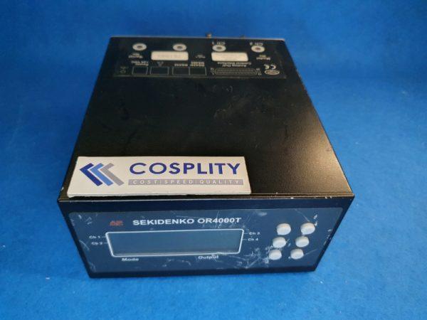 ADVANCED ENERGY 955-2001-03 SEKIDENKO FIBER OPTIC THERMOMETER OR4000