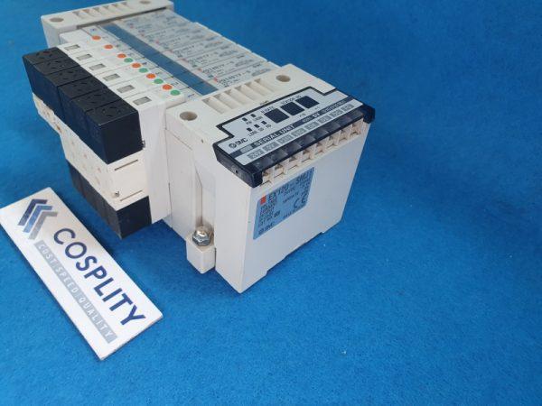 SMC EX120-SMJ1 SERIAL UNIT WITH VVQ1000-10A-1 x2 VQ1101Y-5 x2 VQ1401Y-5 x4