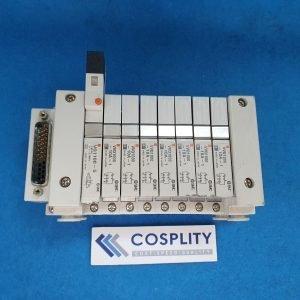 SMC MANIFOLD BLOCK W/ VQ1100-5 x1 VVQ1000-10A-1 x7