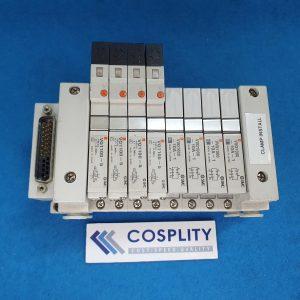 SMC MANIFOLD BLOCK W/ VQ1100-5 x4 VVQ1000-10A-1 x4