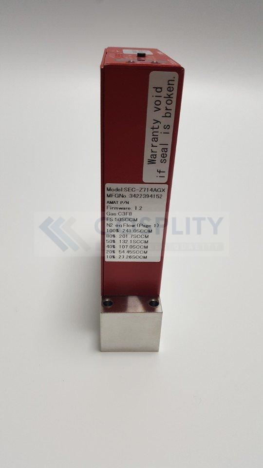 HORIBA STEC SEC-Z714AGX MASS FLOW CONTROLLER GAS C3F8 / 50SCCM