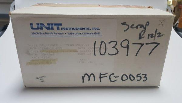 UNIT UFC-1200A MASS FLOW CONTROLLER GAS 3%H2/N2 / 2SLM