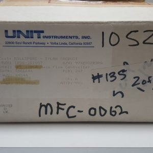 UNIT UFC-1200A MASS FLOW CONTROLLER 1200-101057 GAS CF4 / 500SCCM