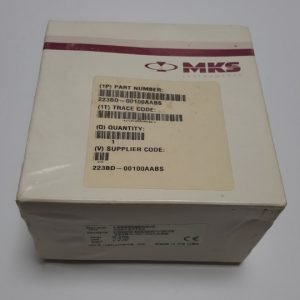 MKS 223BD-00100AABS BARATRON GAUGE RANGE 50 INH20