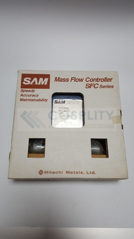 SAM SFC480E-MC-4VPE MASS FLOW CONTROLLER GAS CHF3 / 200SCCM