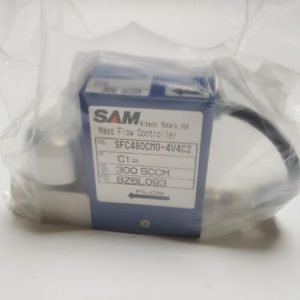 SAM SFC480C-MC-4V4C2 MASS FLOW CONTROLLER GAS CL2 / 300SCCM