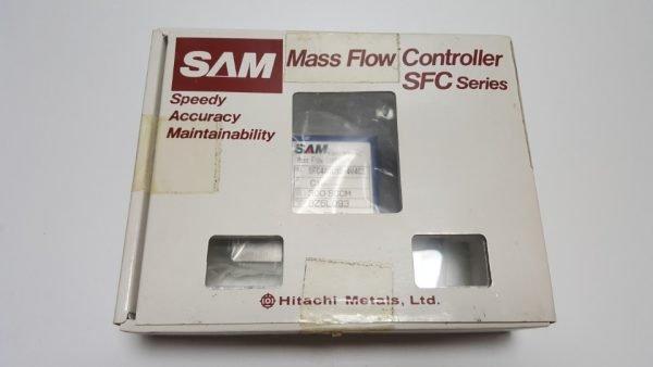 SAM SFC480C-MC-4V4C2 MASS FLOW CONTROLLER GAS CL2 / 300SCCM