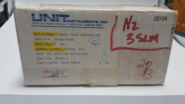 0226-48836 MFC UNIT UFC-1160A GAS N2 / 3SLM