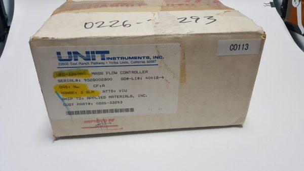 0226-33293 MFC UNIT UFC-1260A GAS N2 /3SLM
