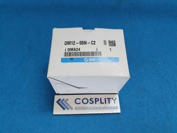 SMC DM12-06N-C2 MULTI CONNECTOR W/ COVER