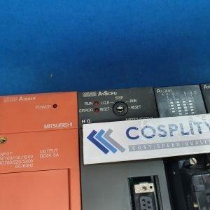 MITSUBISHI 303C MELSEC W/ A1S61P A1SCPU A1SX41 A1SX40 A1SY10