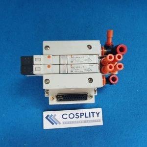 VARIAN E19285040 MANIFOLD VV5Q11-02-DAI00046 W/ VQ1101-5 x2