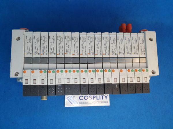 AMAT 4060-001101 MANF ASSY PNEU 16STATION NP420-DN1 VV5Q11-ULB970095 VQ1101Y-5 VQ1200Y-5-X35 VQ1A01Y-5 VQ1201Y-5