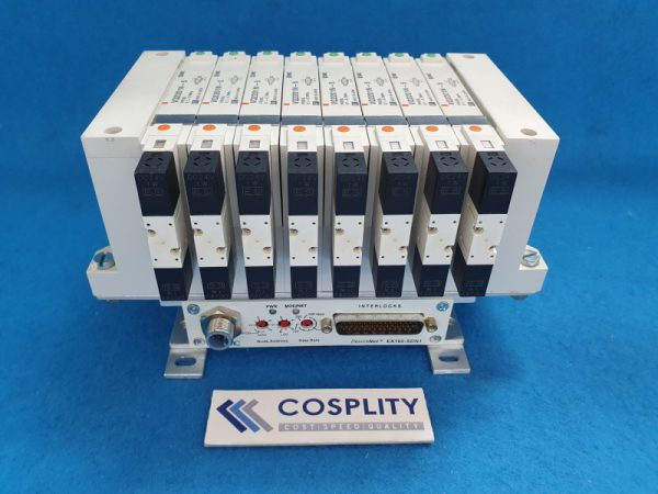 4060-01156 MANF ASSY SLIT VALVE PNEU 8-STATION EX160-SDN1 VV5Q21-ULB99006 VQ2201N-5