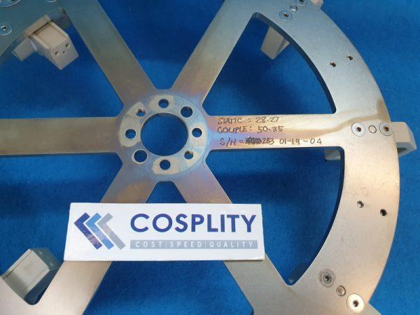 0010-12525 FLYWHEEL ASSY, 45 DEGREE PLUNGER 300MM