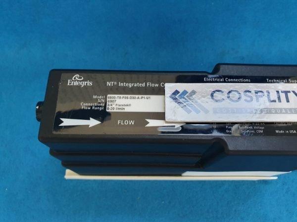ENTEGRIS 6500-T8-F06-D30-A-P1-U1 INTEGRATED FLOW CONTOLLER 0-20 l/min