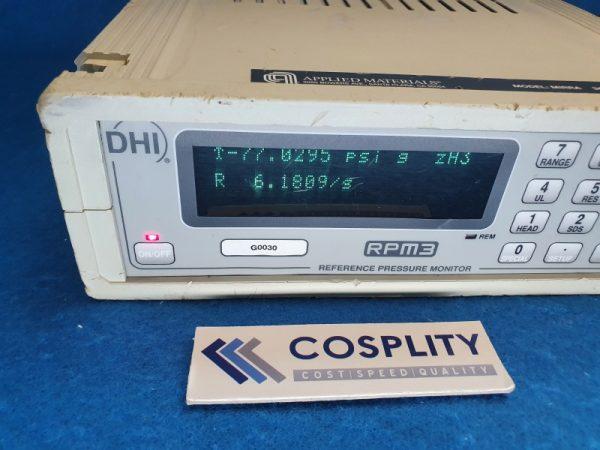 1040-01153 METER PRESS 0-30 PSI DHI RPM3 G0030 S/N 1819 , USED AS IS