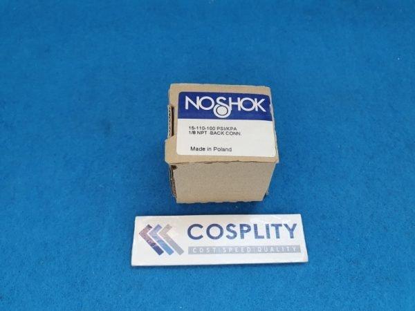 NOSHOK 15-110-100 PSI/KPA 1/8 NPT BACK CONN