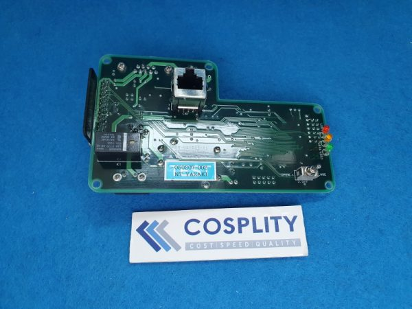 TOKYO ELECTRON 3M81-022515-11 THROTTLE VALVE CONTROLLER CARD