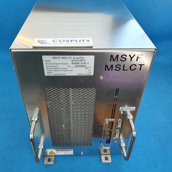 NIKON 4S066-018-1 MSYF MSLCT AMPLIFIER SPA376FC NSR