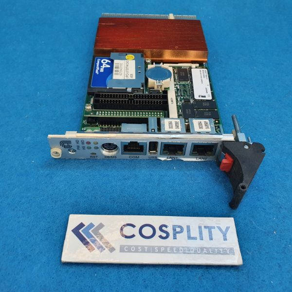 0190-17123 SBC C400MHZ, 3U CPCI, 256MB RAM, ETCH VX