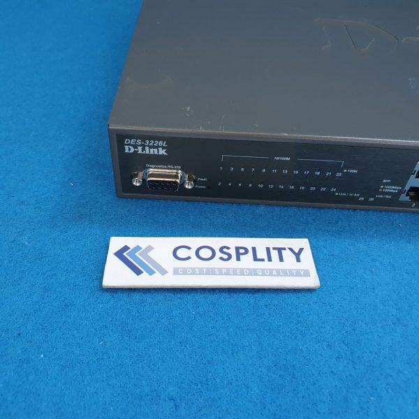 0190-25727 Specification, DLINK DES3226L Ethernet S