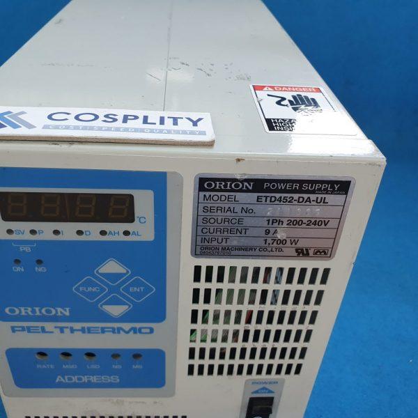 ORION ETD452-DA-UL POWER SUPPLY 1Ph 200-240V AMAT