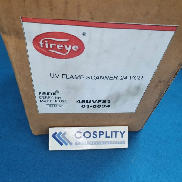 FIREEYE 45UVFS1 UV FLAME SCANNER 24 VCD 61-6694