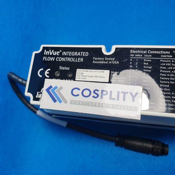 ENTEGRIS 6520-T9-W06-G01-K-P7-U3-R09 INVUE INTEGRATED FLOW CONTROLLER